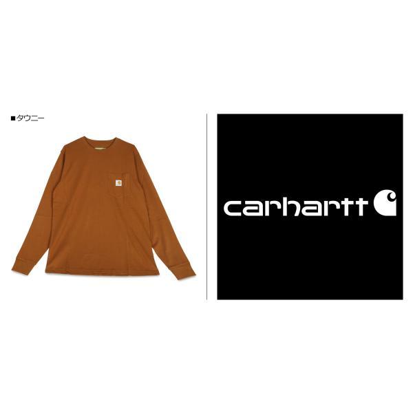 carhartt カーハート  Tシャツ メンズ 長袖 ロンT 無地 LS POCKET T-SHIRT I022094 11/7 新入荷|sugaronlineshop|04