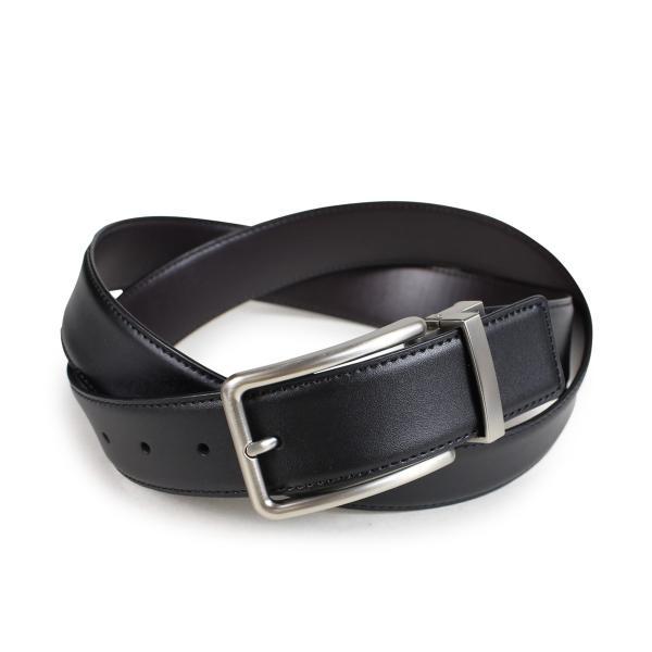 Calvin Klein カルバンクライン ベルト リバーシブル メンズ レザー 32MM REVERSIBLE BELT 3PIECE SET ブラック 黒 ブラウン 74312|sugaronlineshop