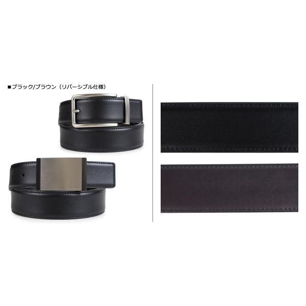 Calvin Klein カルバンクライン ベルト リバーシブル メンズ レザー 32MM REVERSIBLE BELT 3PIECE SET ブラック 黒 ブラウン 74312|sugaronlineshop|02