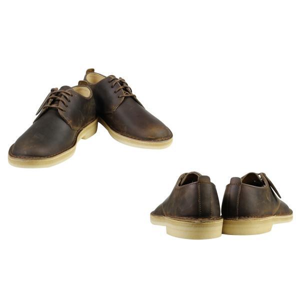 Clarks デザート ロンドン シューズ クラークス メンズ DESERT LONDON 26107880 靴 ブラウン|sugaronlineshop|02