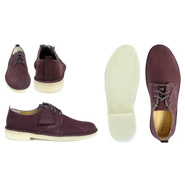 Clarks デザート ロンドン シューズ クラークス メンズ DESERT LONDON 2628511 靴 バーガンディー sugaronlineshop 03