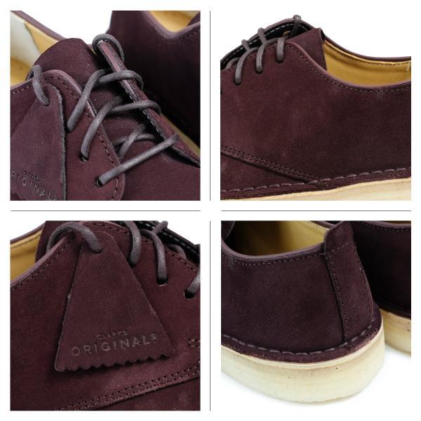 Clarks デザート ロンドン シューズ クラークス メンズ DESERT LONDON 2628511 靴 バーガンディー sugaronlineshop 04