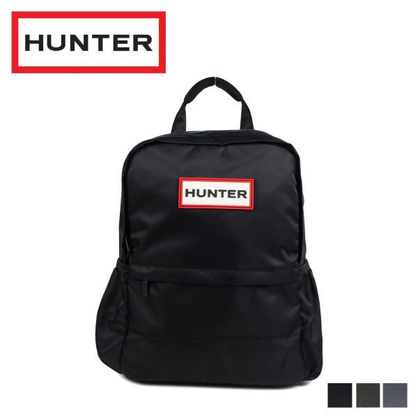 75ead17760d9 HUNTER ハンター リュック バッグ バックパック メンズ レディース ORIGINAL NYLON SMALL BACKPACK ブラック  ダーク オリーブ 黒