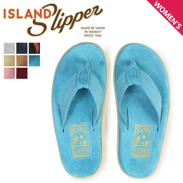 ISLAND SLIPPER アイランドスリッパ サンダル トングサンダル ビーチサンダル レディース スエード CLASSIC SUEDE PT203