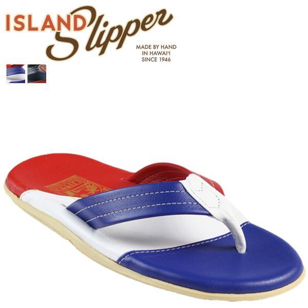 アイランドスリッパ ISLAND SLIPPER サンダル 2カラー PT206 Three Tone Leather Thong レザー メンズ|sugaronlineshop