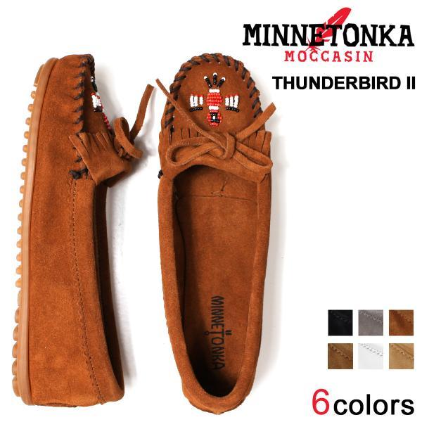 ミネトンカ MINNETONKA モカシン サンダーバード 2 レディース フラットシューズ THUNDERBIRD II 10/18 追加入荷|sugaronlineshop