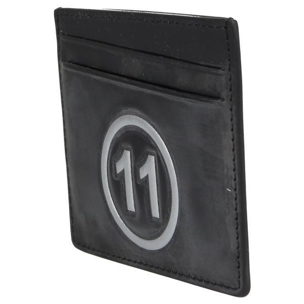 MAISON MARGIELA メゾンマルジェラ カードケース 名刺入れ 定期入れ メンズ レディース CARD CASE レザー ブラック 黒 S35UI0432 P0047 10/8 新入荷|sugaronlineshop|03