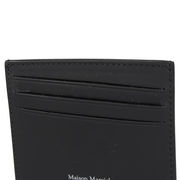 MAISON MARGIELA メゾンマルジェラ カードケース 名刺入れ 定期入れ メンズ レディース CARD CASE レザー ブラック 黒 S35UI0432 P0047 10/8 新入荷|sugaronlineshop|04