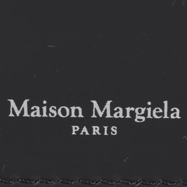 MAISON MARGIELA メゾンマルジェラ カードケース 名刺入れ 定期入れ メンズ レディース CARD CASE レザー ブラック 黒 S35UI0432 P0047 10/8 新入荷|sugaronlineshop|05