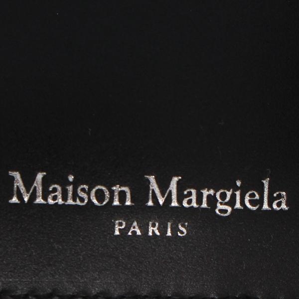 MAISON MARGIELA メゾンマルジェラ 財布 ミニ財布 二つ折り メンズ レディース MINI WALLET レザー ブラック 黒 S35UI0435 P0195 10/8 新入荷|sugaronlineshop|06