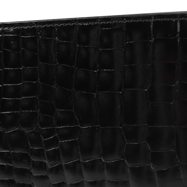 MAISON MARGIELA メゾンマルジェラ 財布 ミニ財布 二つ折り メンズ レディース MINI WALLET レザー ブラック 黒 S35UI0435 P0195 10/8 新入荷|sugaronlineshop|08