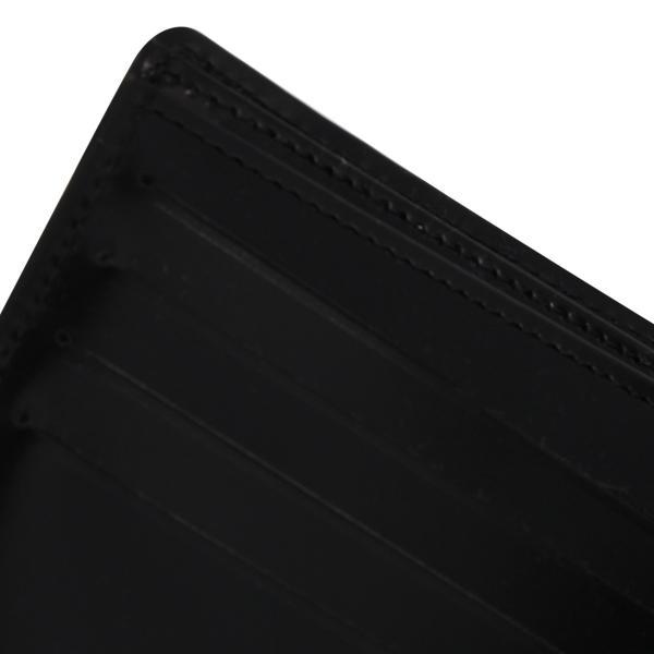 MAISON MARGIELA メゾンマルジェラ 財布 ミニ財布 二つ折り メンズ レディース MINI WALLET レザー ブラック 黒 S35UI0435 P0195 10/8 新入荷|sugaronlineshop|09