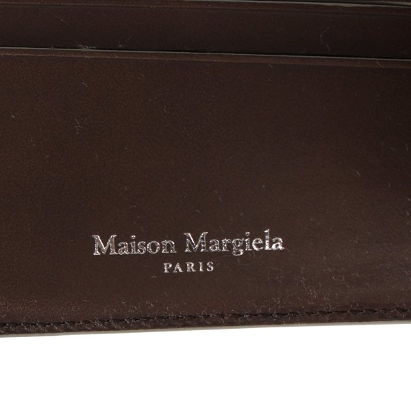 MAISON MARGIELA メゾンマルジェラ 財布 二つ折り メンズ レディース BI-FOLD WALLET レザー S35UI0435 P2714 10/9 新入荷 sugaronlineshop 07