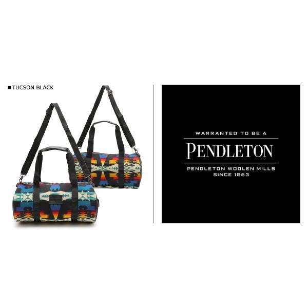 PENDLETON ペンドルトン バッグ ボストンバッグ ROUND GYM BAG メンズ レディース ブラック GA261|sugaronlineshop|02