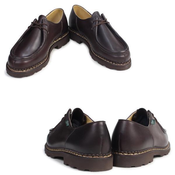 PARABOOT ミカエル パラブーツ MICHAEL シューズ チロリアンシューズ 715612 メンズ レディース 靴 ブラウン 12/9 追加入荷|sugaronlineshop|02