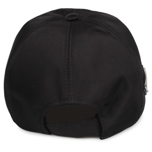 PRADA プラダ キャップ 帽子 ベースボールキャップ メンズ レディース BASEBALL CAP ブラック 黒 2HC2742B15 10/9 新入荷|sugaronlineshop|03