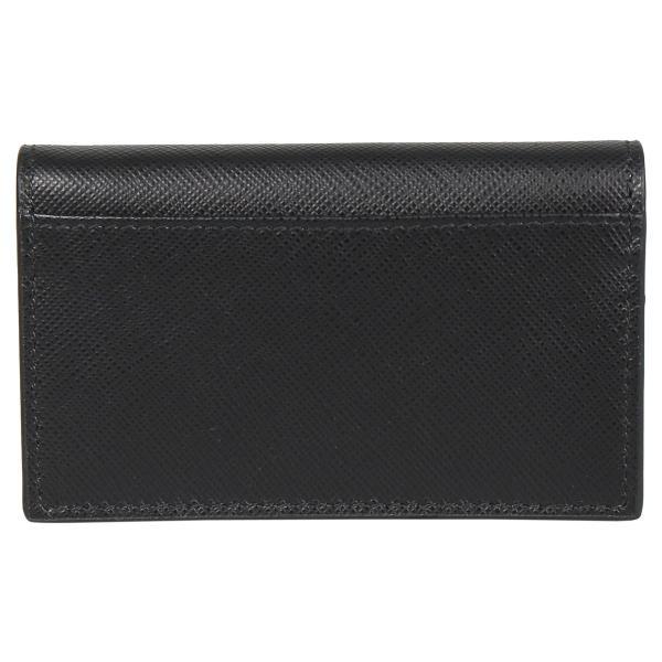 PRADA プラダ 名刺入れ カードケース カードホルダー メンズ サフィアーノ BUSINESS CARD HOLDER VOFTM ブラック 黒 2MC122QME 10/8 新入荷|sugaronlineshop|02