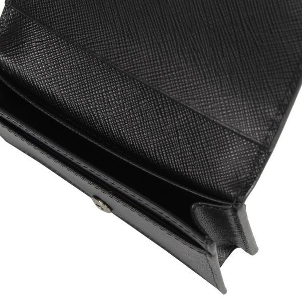 PRADA プラダ 名刺入れ カードケース カードホルダー メンズ サフィアーノ BUSINESS CARD HOLDER VOFTM ブラック 黒 2MC122QME 10/8 新入荷|sugaronlineshop|04