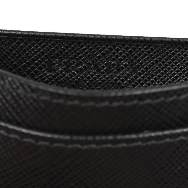 PRADA プラダ 名刺入れ カードケース カードホルダー メンズ サフィアーノ BUSINESS CARD HOLDER VOFTM ブラック 黒 2MC122QME 10/8 新入荷|sugaronlineshop|07