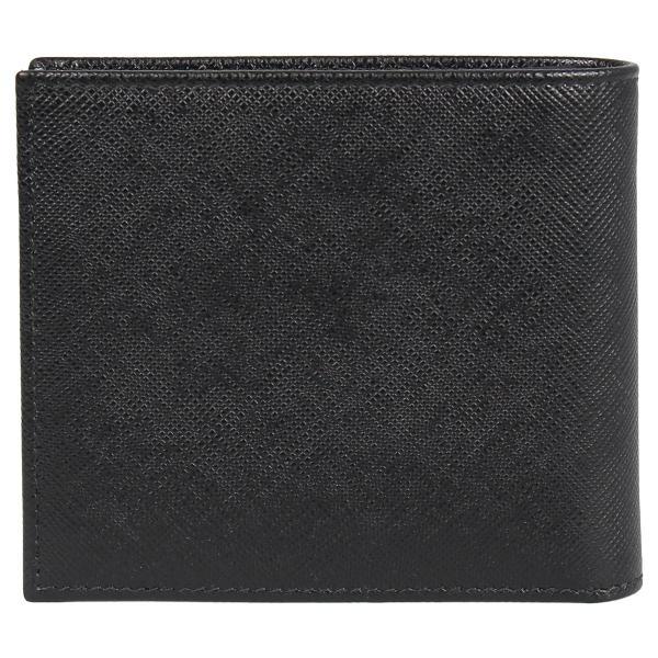 PRADA プラダ 財布 二つ折り メンズ サフィアーノ BIFOLD COIN POCKET ブラック 黒 2MO738QHH 10/8 新入荷|sugaronlineshop|02