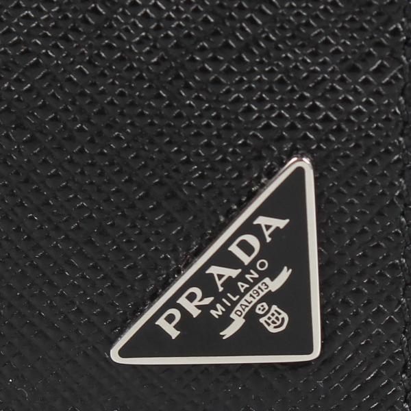 PRADA プラダ 財布 二つ折り メンズ サフィアーノ BIFOLD COIN POCKET ブラック 黒 2MO738QHH 10/8 新入荷|sugaronlineshop|06