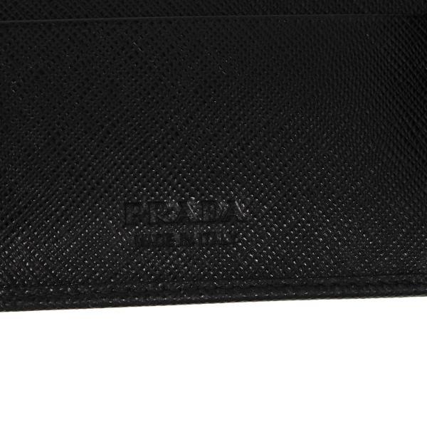 PRADA プラダ 財布 二つ折り メンズ サフィアーノ BIFOLD COIN POCKET ブラック 黒 2MO738QHH 10/8 新入荷|sugaronlineshop|08