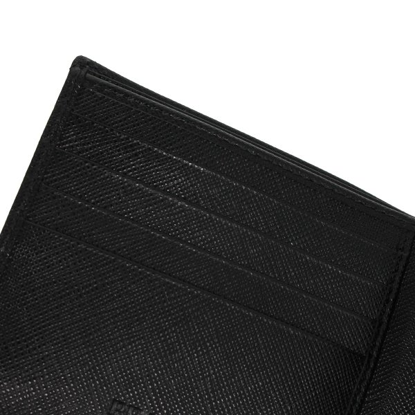 PRADA プラダ 財布 二つ折り メンズ サフィアーノ BIFOLD COIN POCKET ブラック 黒 2MO738QHH 10/8 新入荷|sugaronlineshop|09