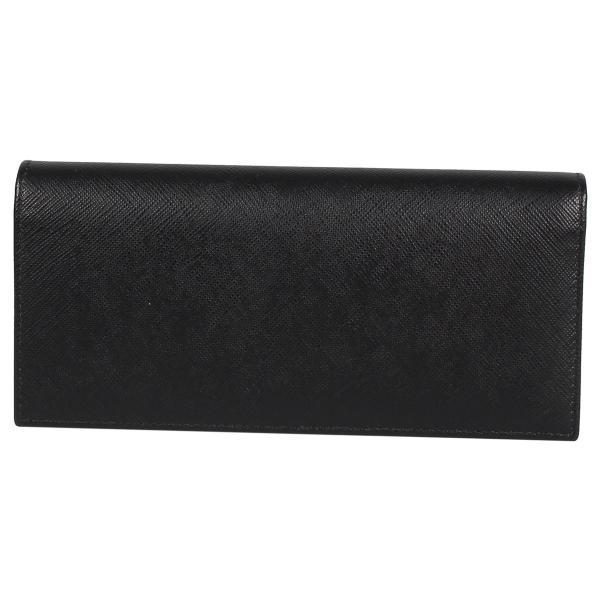 PRADA プラダ 財布 長財布 メンズ サフィアーノ VERTICAL WALLET ブラック 黒 2MV836QHH 10/8 新入荷|sugaronlineshop|02