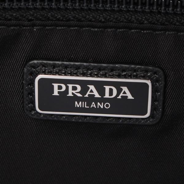 PRADA プラダ ポーチ セカンドバッグ 小物入れ メンズ レディース BEAUTY CASE DOPPIA ZIP ブラック 黒 2NA030064 10/9 新入荷|sugaronlineshop|08