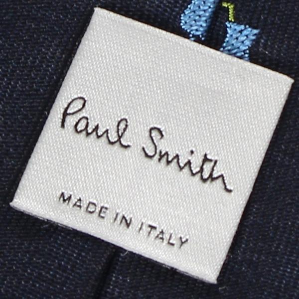 Paul Smith ポールスミス ネクタイ メンズ イタリア製 シルク ビジネス 結婚式 ブラック ネイビー ワイン レッド 黒 10/10 新入荷|sugaronlineshop|05