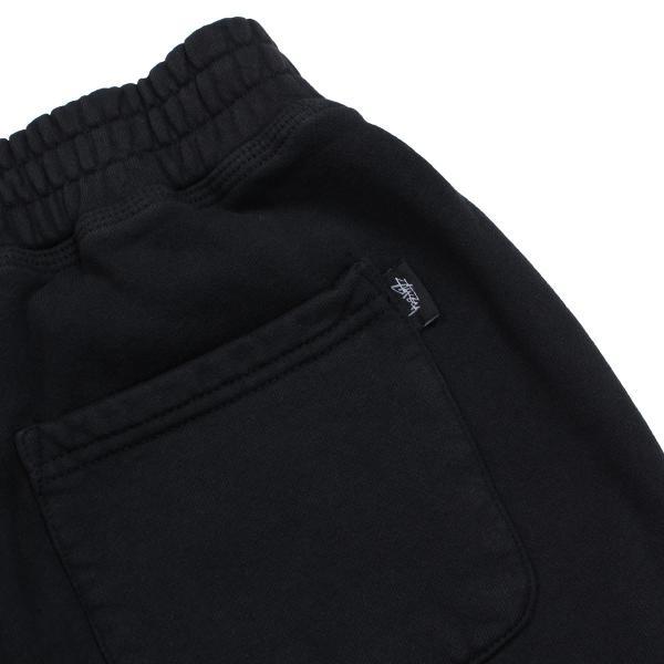 STUSSY ステューシー スウェット ショートパンツ ハーフパンツ メンズ フリース STOCK FLEECE SHORT ブラック 黒 112232 11/3 追加入荷|sugaronlineshop|07