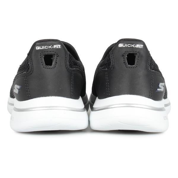 SKECHERS スケッチャーズ ゴーウォーク 5 スリッポン スニーカー レディース GO WALK 5 ブラック 黒 15901 10/3 新入荷|sugaronlineshop|05