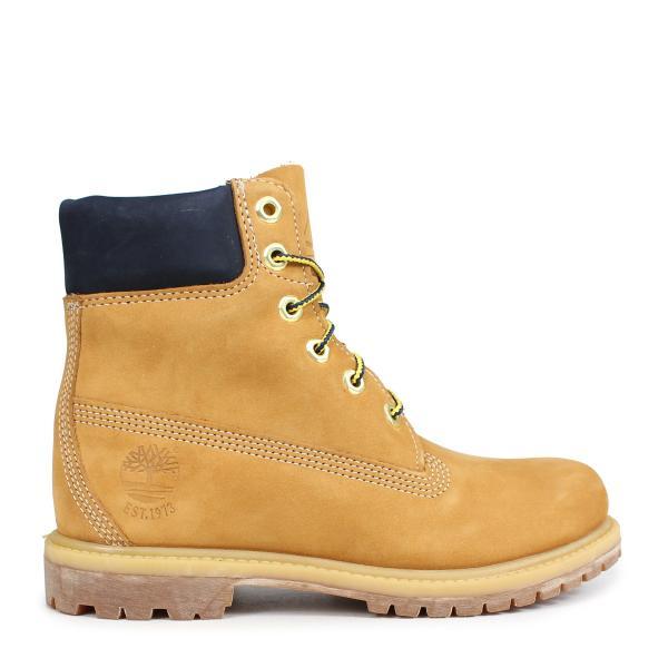 Timberland ティンバーランド ブーツ 6インチ レディース 6-INCH PREMIUM BOOTS Wワイズ ウィート A1SI1 3/19 追加入荷
