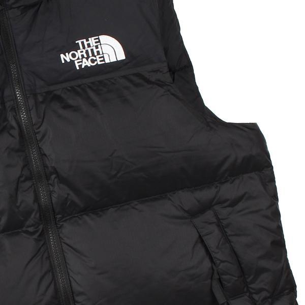 THE NORTH FACE ノースフェイス ダウンベスト ベスト レトロ ヌプシ メンズ 1996 RETRO NUPTSE VEST ブラック 黒 NF0A3JQQ 11/18 新入荷|sugaronlineshop|06