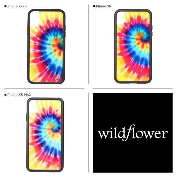 ワイルドフラワー wildflower iPhone XR X XS MAX ケース スマホ 携帯 アイフォン レディース タイダイ マルチカラー STIE 11/11 新入荷|sugaronlineshop|02