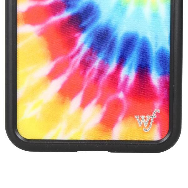 ワイルドフラワー wildflower iPhone XR X XS MAX ケース スマホ 携帯 アイフォン レディース タイダイ マルチカラー STIE 11/11 新入荷|sugaronlineshop|04