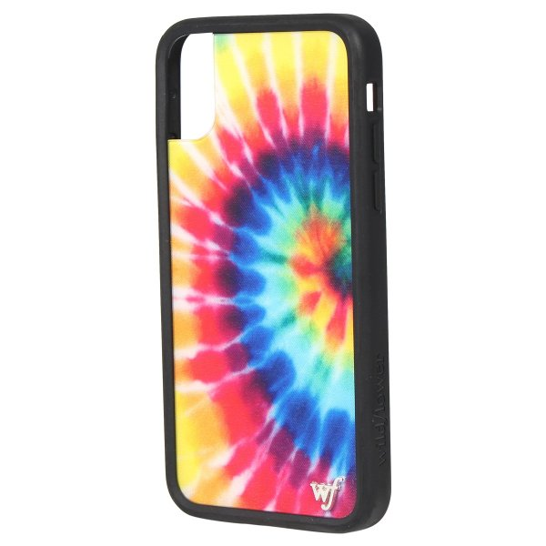 ワイルドフラワー wildflower iPhone XR X XS MAX ケース スマホ 携帯 アイフォン レディース タイダイ マルチカラー STIE 11/11 新入荷|sugaronlineshop|05
