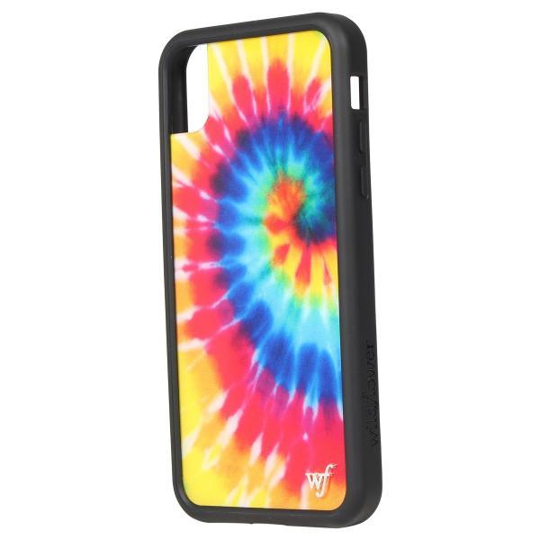 ワイルドフラワー wildflower iPhone XR X XS MAX ケース スマホ 携帯 アイフォン レディース タイダイ マルチカラー STIE 11/11 新入荷|sugaronlineshop|06