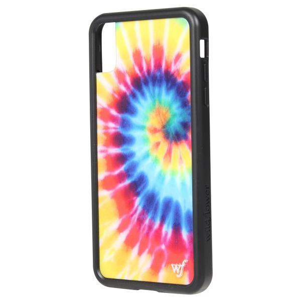 ワイルドフラワー wildflower iPhone XR X XS MAX ケース スマホ 携帯 アイフォン レディース タイダイ マルチカラー STIE 11/11 新入荷|sugaronlineshop|07
