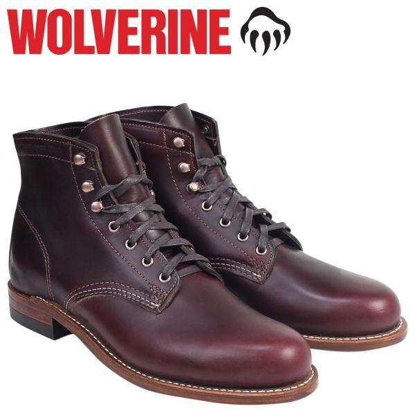 WOLVERINE 1000マイル ブーツ ウルヴァリン 1000MILE ワークブーツ BOOT NO 8 W00137 コードバン メンズ 11/13 追加入荷 sugaronlineshop