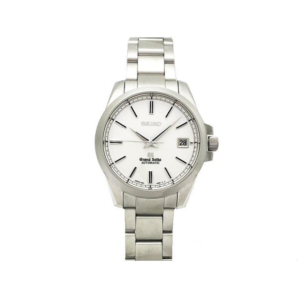 セイコー SEIKO グランドセイコー GS メカニカル SBGR055 9S65-00C0 SS ホワイト文字盤 自動巻 裏スケ メンズ 腕時計 仕上げ済
