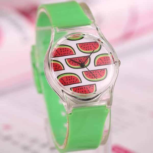 子供用スイカの腕時計 1本|suica-gracias
