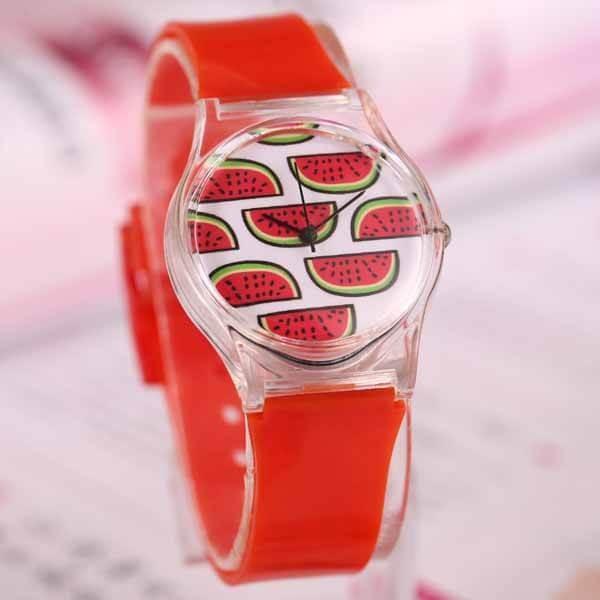 子供用スイカの腕時計 1本|suica-gracias|02