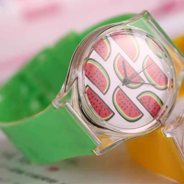 子供用スイカの腕時計 1本|suica-gracias|04