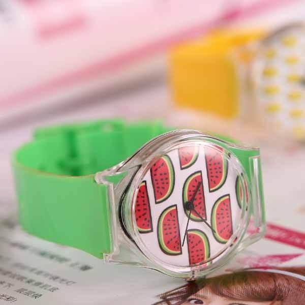 子供用スイカの腕時計 1本|suica-gracias|05