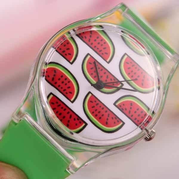 子供用スイカの腕時計 1本|suica-gracias|06