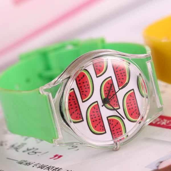 子供用スイカの腕時計 1本|suica-gracias|07