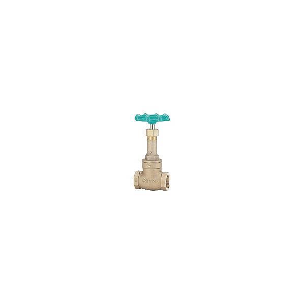 KITZ 給水用ゲートバルブ(10k-20A,3/4インチ)LN-20A
