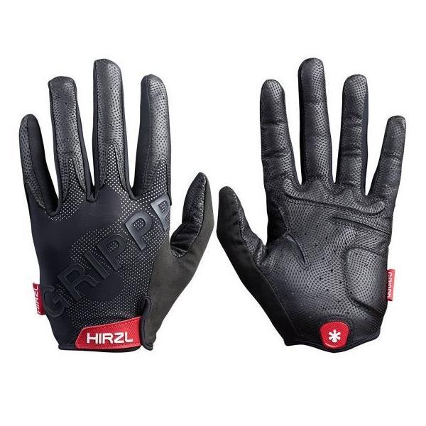 Hirzl Grippp Tour FF 2.0 Gloves Black ハーツェル グリップツアーフル2.0 フルフィンガー サイクル グローブ 並行輸入品 ブラック|suikaya9001