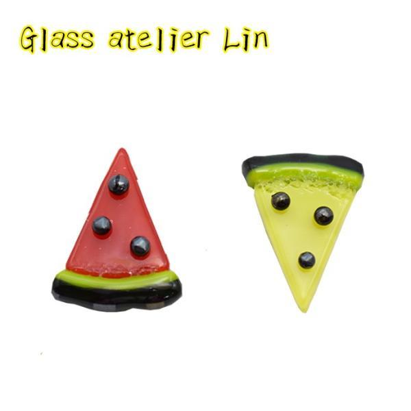 ガラスの箸置き2個セット